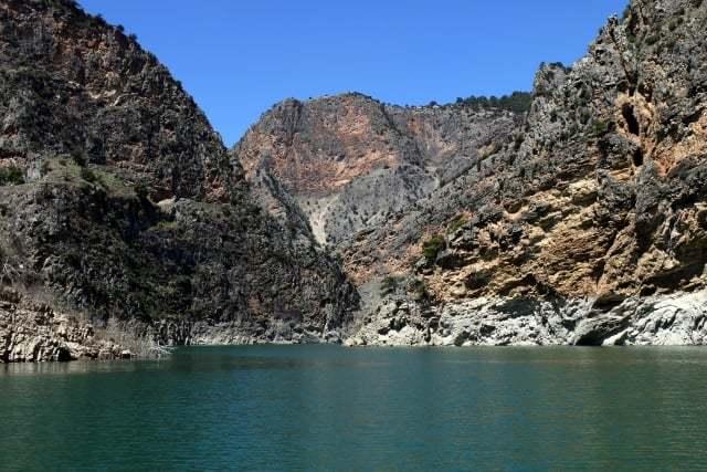 arapapıştı kanyonu tekne turu